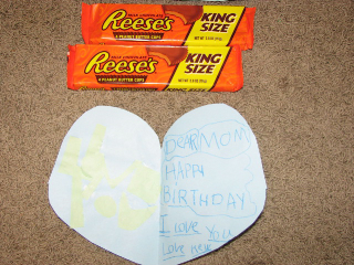 heart and reeses