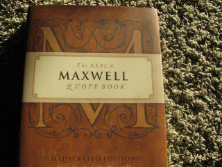neal a. maxwell quote book