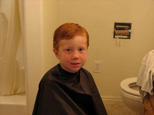 Getting it cut