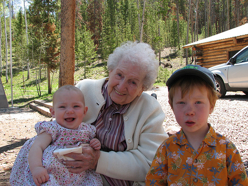 Grandma GG and Fisher and Annesley