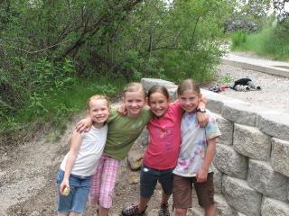 Girls at Cress Creek